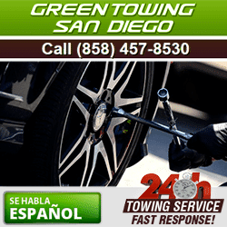 Professional Towing in San Diego