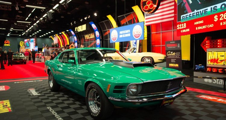 1970 Ford Mustang Boss 429 Fastback (Lot S118). KK No. 2240, Build Sheet. Photo: Maggie Pinke, courtesy of Mecum Auctions