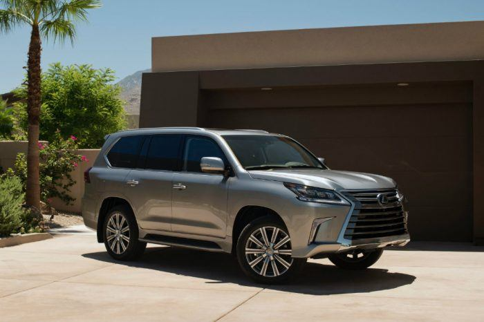2017 Lexus LX 570 is an example of a large premium SUV that may now attract Generation X buyers. Photo: Toyota Motor Sales, U.S.A., Inc.