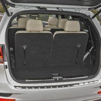Kia Offers An Available Remote Liftgate Release That Works With The Key In  Your Pocket Or Purse. Storage Space Behind The Third Row Is Limited, ...