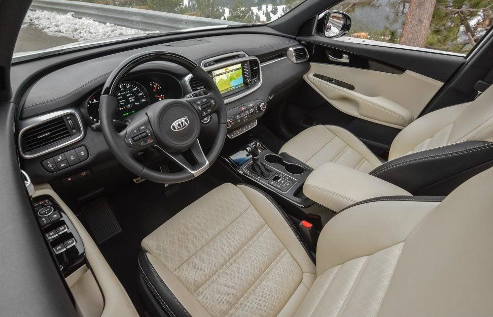 2017 Kia Sorento Driveru0027s Side Interior