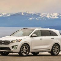 2017 Kia Sorento Mountain Shot
