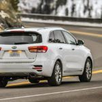 2017 Kia Sorento Rear Profile Shot