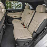 2017 Kia Sorento Rear Seats