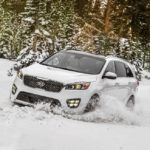 2017 Kia Sorento Snow Test