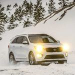 2017 Kia Sorento Winter Profile Shot