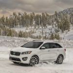 2017 Kia Sorento Winter Shot