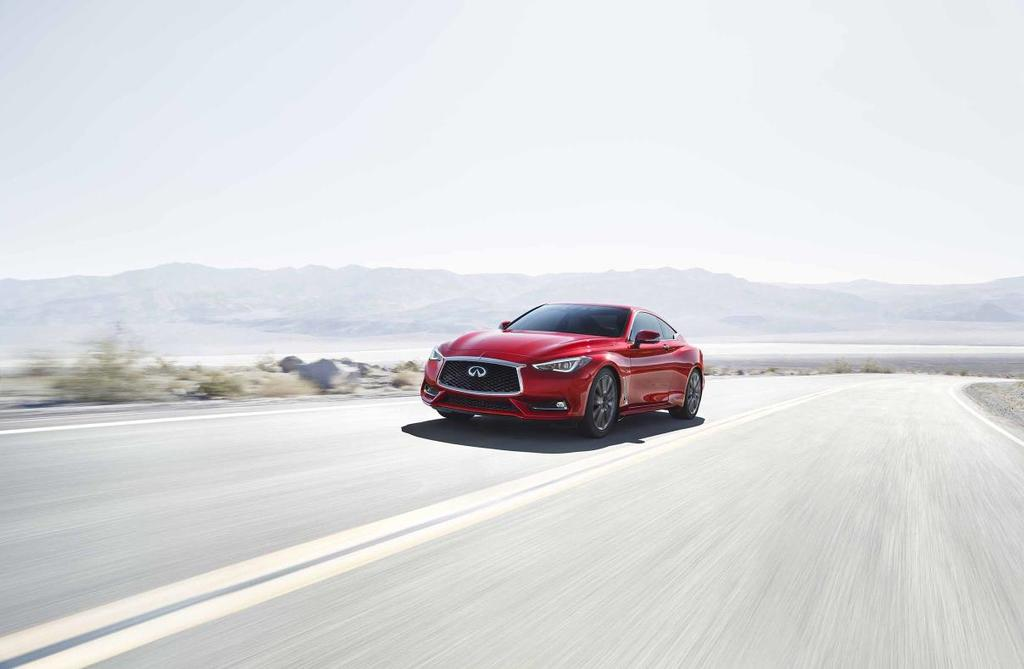 Infiniti Q60 Red Sport 400 Pushes Brand Threshold