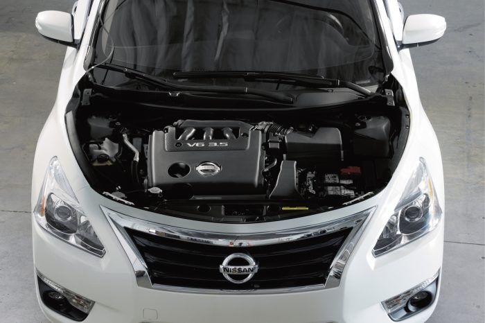 2017 Nissan Altima Engine