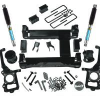 4.5-inch suspension lift kit (2015-2016 F-150 4WD) with Bilstein rear shocks.