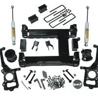 4.5-inch suspension lift kit (2015-2016 F-150 4WD) with superide shocks.