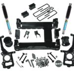 6 Suspension Lift Kit 2015 2016 F150 4WD with Bilstein Rear Shocks
