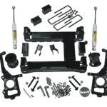 6 Suspension Lift Kit 2015 2016 F150 4WD with Superide Rear Shocks