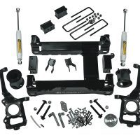 6-inch suspension lift kit (2015-2016 F-150 4WD) with superide rear shocks.
