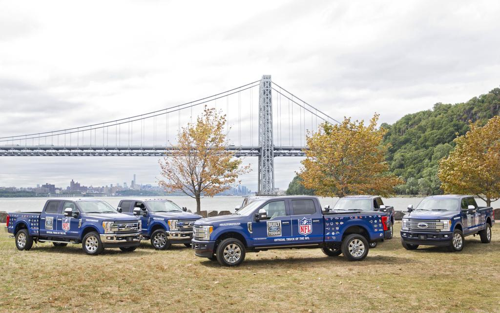 Ford NFL Truck Lineup