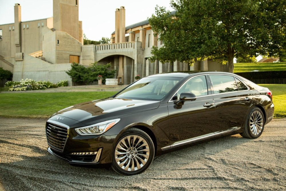 Genesis G90 Pricing Announced