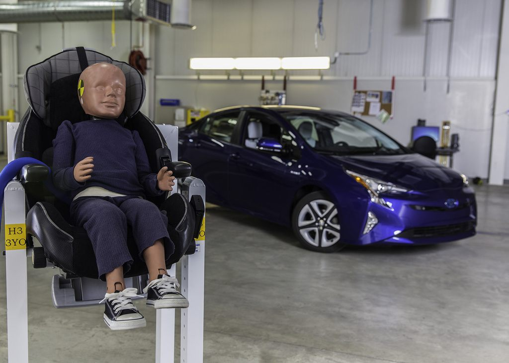 Toyota Increases Child Safety With New Design