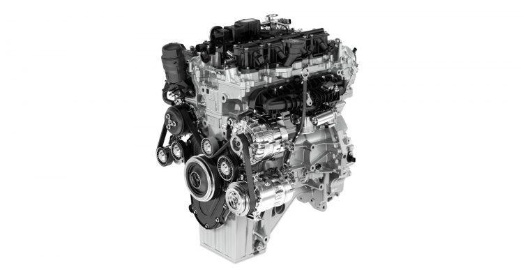 Ingenium Petrol Engine. Photo: Jaguar Land Rover North America LLC.