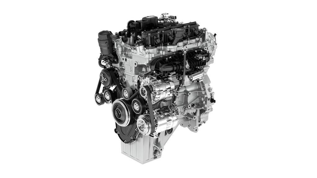 Jaguar Land Rover Unveils New Engine & Transmission Technology