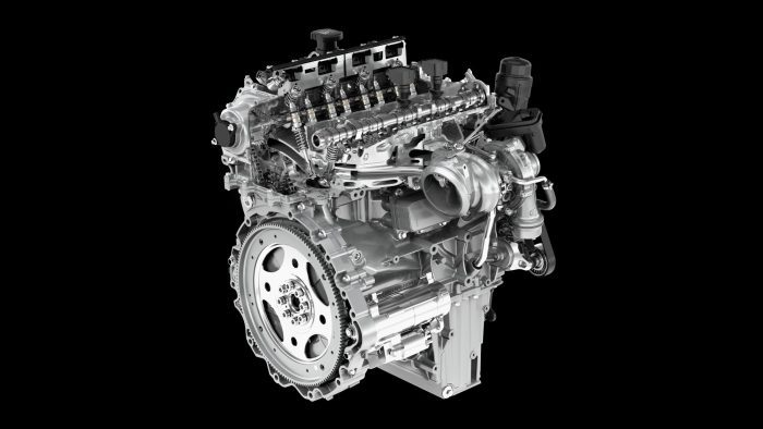 Ingenium Petrol Engine. Photo: Jaguar Land Rover North America LLC