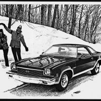 The Super Sport Chevelle returned for one last time for 1973's restyled Colonnade coupe. A blacked-out grille, grey lower body treatment, dual sport mirrors, appropriate badges, and Rally wheels were standard. SS production that year was 28,647.