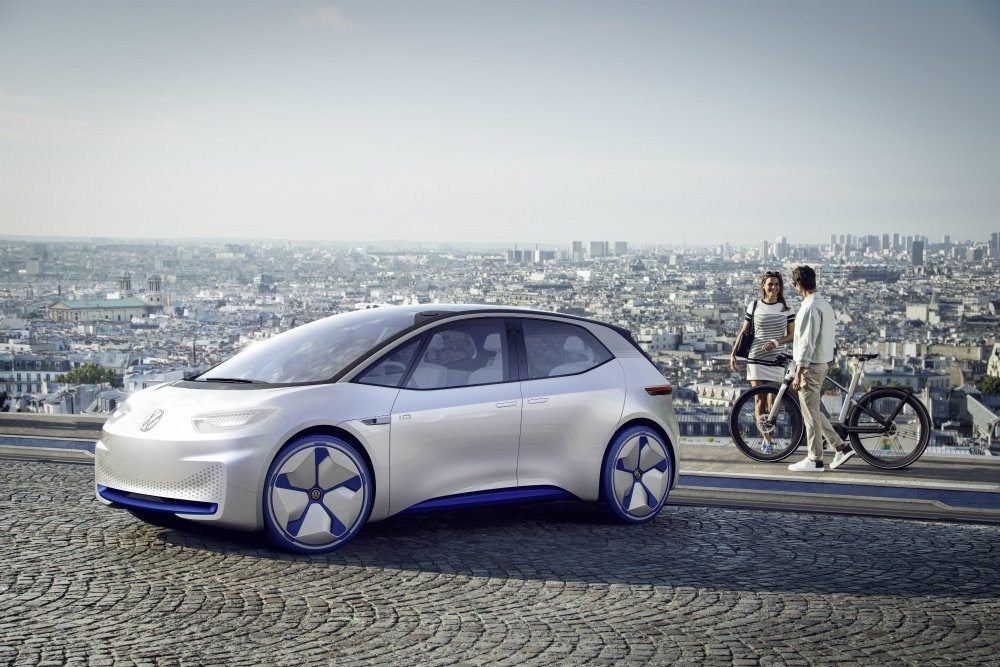 Volkswagen Eyeing Electrified Autonomous Platforms With New I.D.