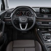2018 Audi Q5 Dashboard and Steering Wheel