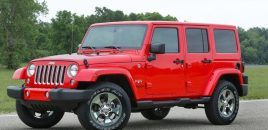 FCA Recalls 182,000 Jeep Wrangler 4×4 for Faulty Airbag Sensors