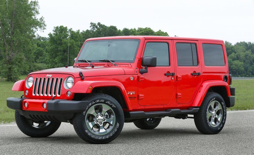FCA Recalls 182,000 Jeep Wrangler 4×4 for Faulty Airbag Sensors