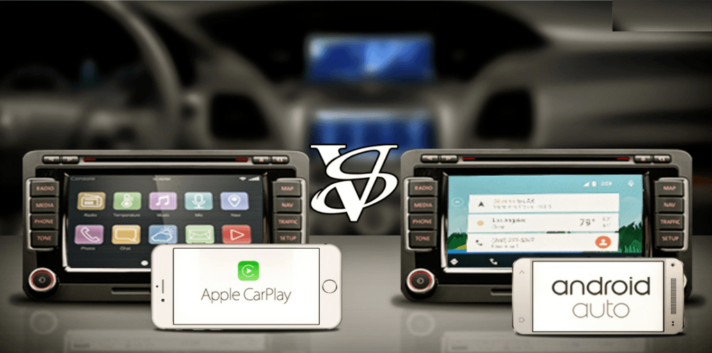 Apple Carplay Vs Android Auto Infographic