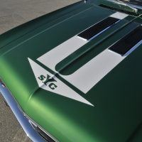 Yenko Sports Cars stripe on the hood pointed the way. Photo: David Newhardt.