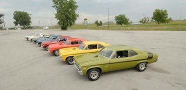 Muscle car lineup