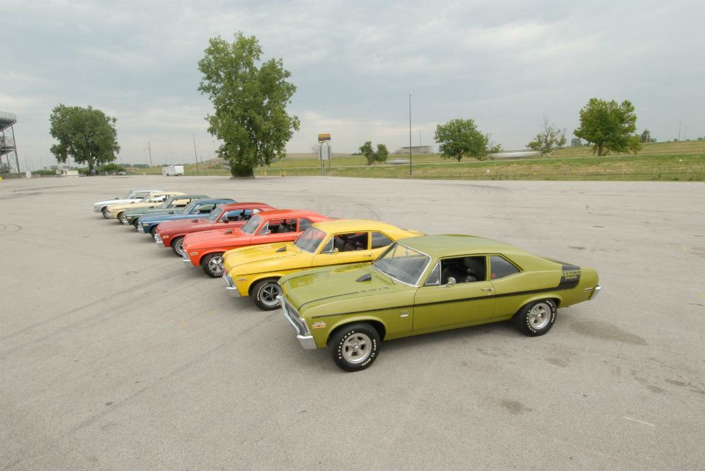 Automoblog Book Garage: The Complete Book of American Muscle Supercars