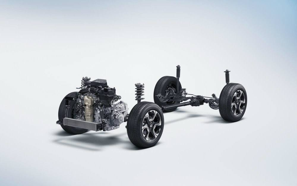 The 2017 Honda Cr V Features An All New Body And Chis Design For Confident Handling Additional Ground Clearance Front Macpherson Strut Rear