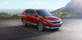 2017 Honda CR-V Features New Engine, Safety Tech