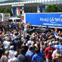Americanmuscle Annual Car Show Benefits Make A Wish Foundation
