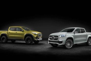 Mercedes-Benz X-Class Pickup Revealed 20
