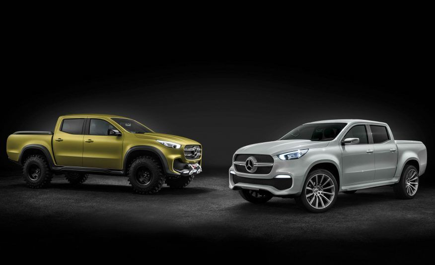 Mercedes-Benz X-Class Pickup Revealed