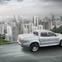 Mercedes-Benz X-Class concept Stylish Explorer Right Rear Three Quarters