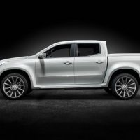 Mercedes-Benz X-Class pickup concept Left Side Profile
