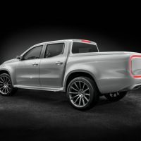 Mercedes-Benz X-Class pickup concept Left Rear Three Quarters