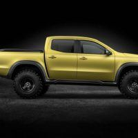 Mercedes-Benz X-Class concept Powerful Adventurer Right Side Profile