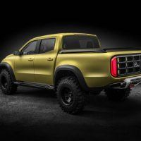 Mercedes-Benz X-Class concept Powerful Adventurer Left Rear Three Quarters
