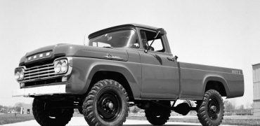 Nineteen fifty-nine also marked the first year Ford had produced its own 4x4 model pickup. Previously, Ford had used Napco, Marmon-Harrington, and American-Coleman to convert its trucks into four-wheel drive.