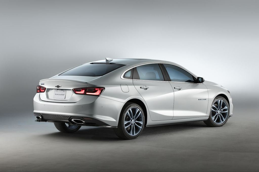 Chevrolet Malibu Blue Line Concept Right Rear Three Quarters