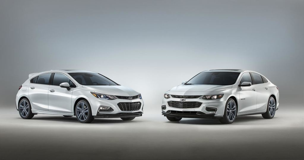 Chevrolet Malibu and Cruze RS Hatchback Blue Line Concepts