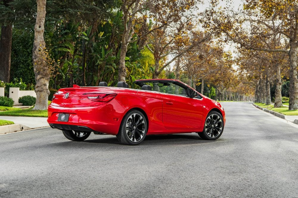 2017 Buick Cascada Seeing Red