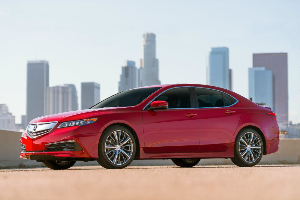 acura tlx gets hotter with new gt package. Black Bedroom Furniture Sets. Home Design Ideas