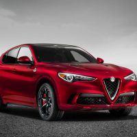 2018 Alfa Romeo Stelvio Right Front Three Quarters