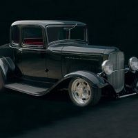 Builder: Alan Johnson - 1932 Ford Five-Window Coupe